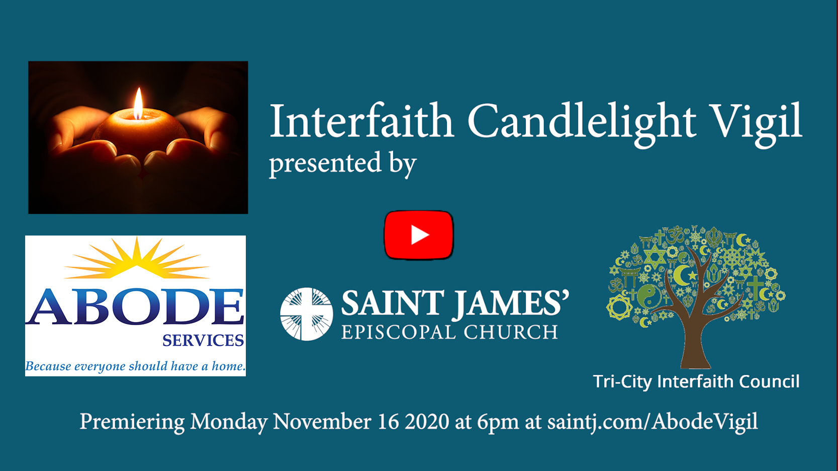 Interfaith Candlelight Vigil